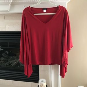 Brand new red top